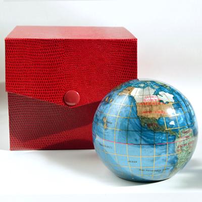 Globe with Box